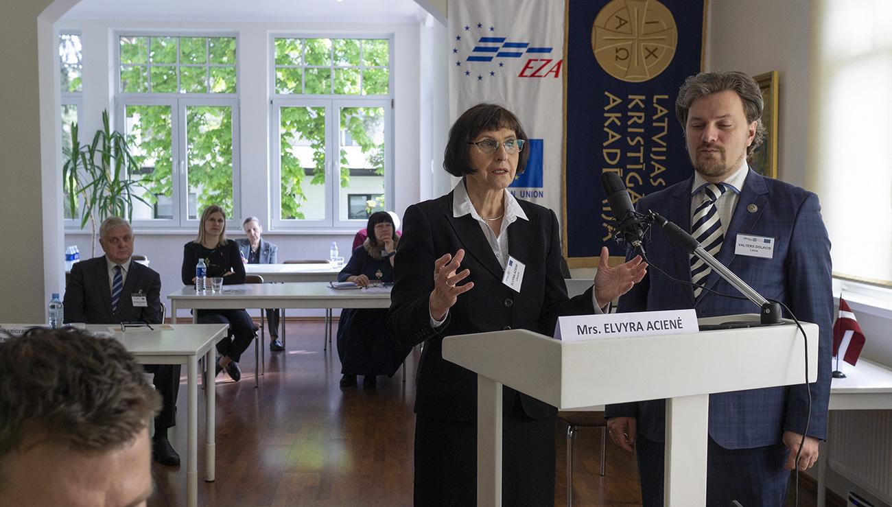 Starptautisks EZA seminārs par mūžizglītību Baltijas valstīs un EU